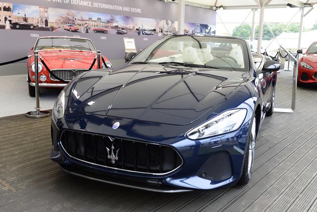 Cặp đôi xe sang Maserati GranTurismo và GranCabrio 2018 rủ nhau ra mắt - Ảnh 5.