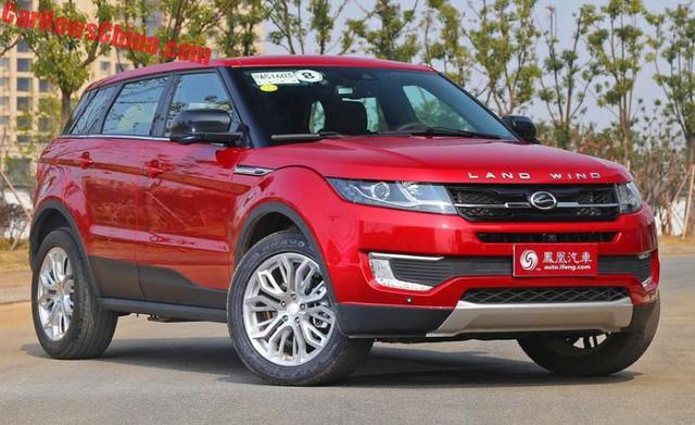 Phiên bản nâng cấp của Range Rover Evoque nhái lộ diện - Ảnh 2.