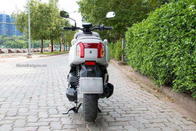 Cận cảnh xe ga kiểu dáng lạ Yamaha QBIX 125 ABS tại Việt Nam - Ảnh 6.