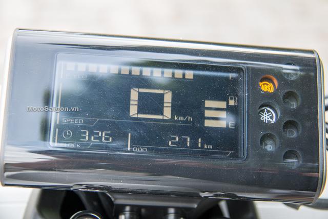 Cận cảnh xe ga kiểu dáng lạ Yamaha QBIX 125 ABS tại Việt Nam - Ảnh 8.