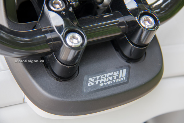 Cận cảnh xe ga kiểu dáng lạ Yamaha QBIX 125 ABS tại Việt Nam - Ảnh 14.