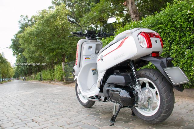 Cận cảnh xe ga kiểu dáng lạ Yamaha QBIX 125 ABS tại Việt Nam - Ảnh 17.