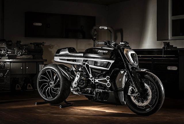 Ducati XDiavel được biến hóa theo phong cách Café Racer cực chất - Ảnh 1.