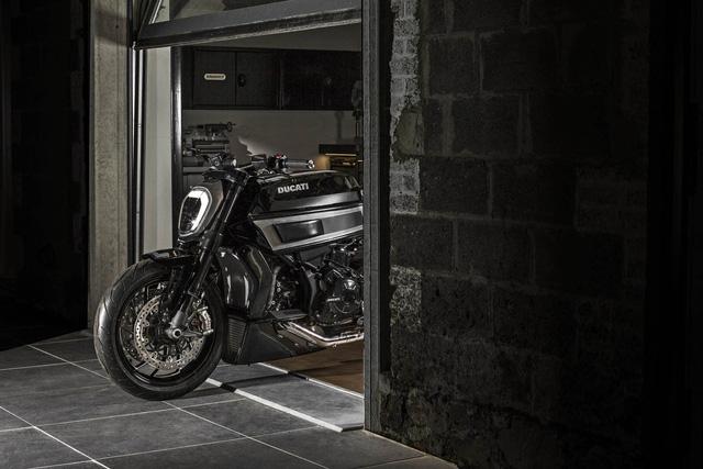 Ducati XDiavel được biến hóa theo phong cách Café Racer cực chất - Ảnh 4.
