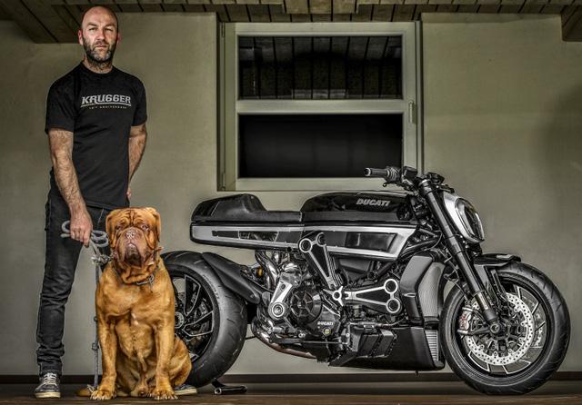Ducati XDiavel được biến hóa theo phong cách Café Racer cực chất - Ảnh 8.