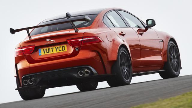 Jaguar XE SV Project 8 - Mãnh thú dành cho đường đua - Ảnh 3.