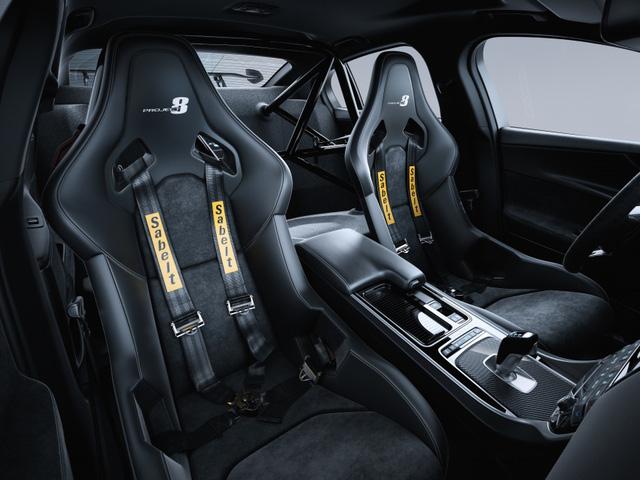 Jaguar XE SV Project 8 - Mãnh thú dành cho đường đua - Ảnh 4.