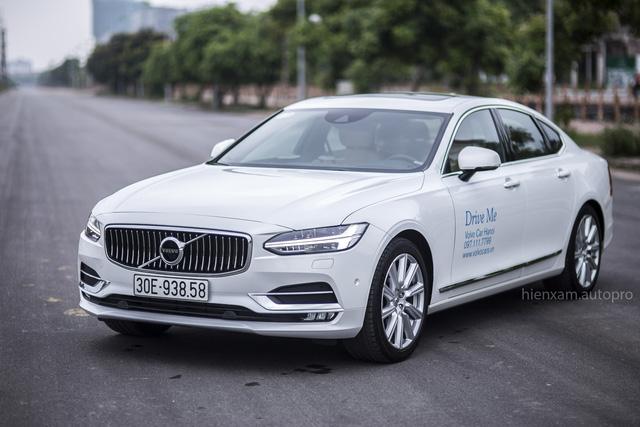 Volvo S90 Inscription có gì khi tham gia phân khúc xe sedan hạng sang cỡ trung? - Ảnh 1.