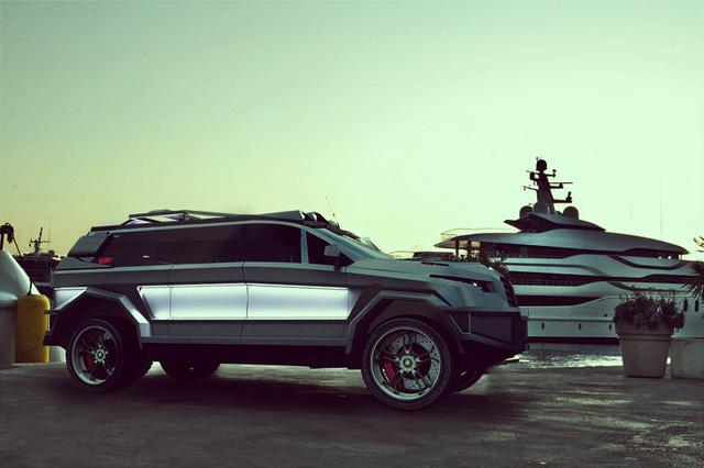 Dartz Black Alligator - Phiên bản triệu đô và mạnh 1.600 mã lực của Mercedes-AMG GLS63 - Ảnh 2.