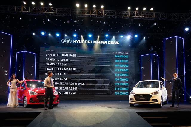 Hyundai Grand i10 2017 lắp ráp tại Việt Nam chính thức ra mắt, giá từ 340 triệu Đồng - Ảnh 5.