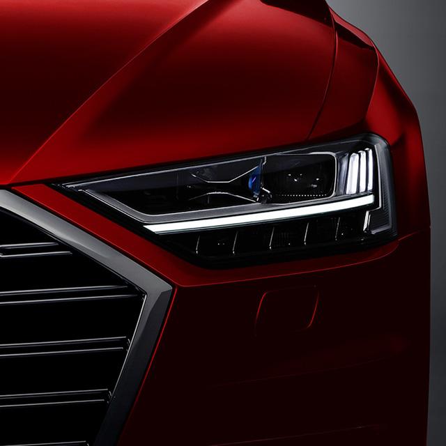 Sedan hạng sang cỡ lớn Audi A8 2018 tiếp tục hiện nguyên hình - Ảnh 1.
