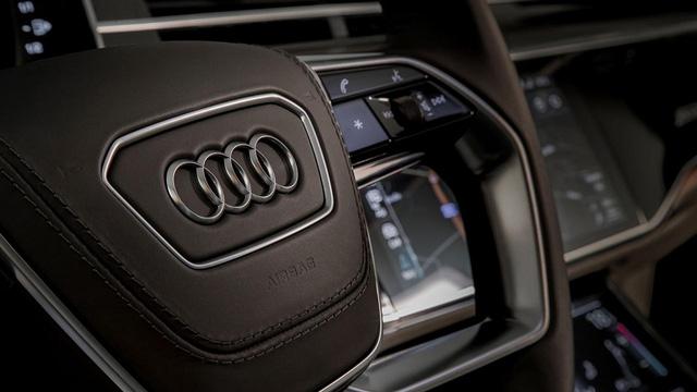 Sedan hạng sang cỡ lớn Audi A8 2018 tiếp tục hiện nguyên hình - Ảnh 5.