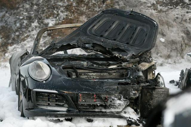 12 chiếc xe sang Porsche của một đại lý bị phóng hỏa đốt cháy - Ảnh 5.