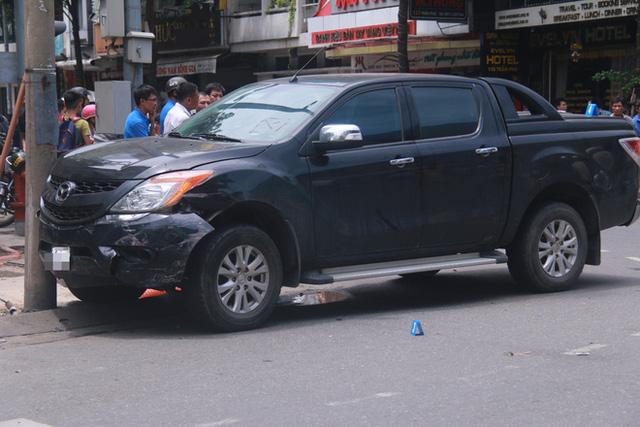Đà Nẵng: Nữ tài xế lái xe bán tải Mazda BT-50 gây tai nạn liên hoàn, 3 người thương vong - Ảnh 1.