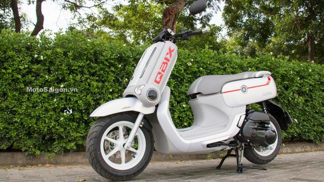 Xe ga Yamaha QBIX thứ 2 về Việt Nam với trang bị nghèo nàn hơn - Ảnh 1.