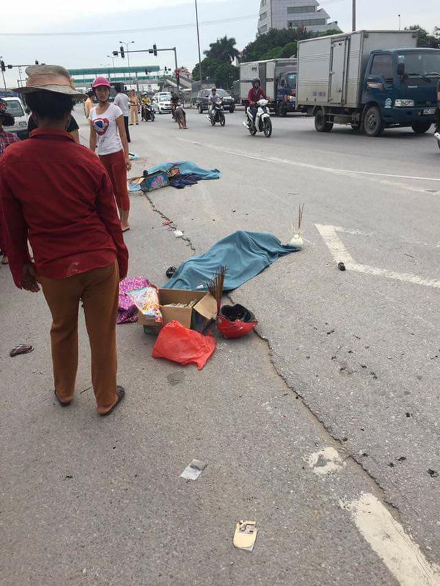 Hải Dương: Cô giáo dạy Văn và con gái tử vong dưới bánh xe đầu kéo trên đường đi khám bệnh - Ảnh 1.