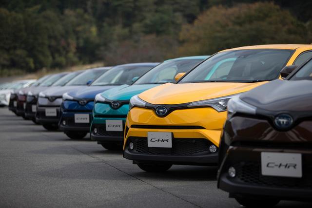 Toyota C-HR trở thành vua doanh số tại thị trường quê nhà - Ảnh 1.