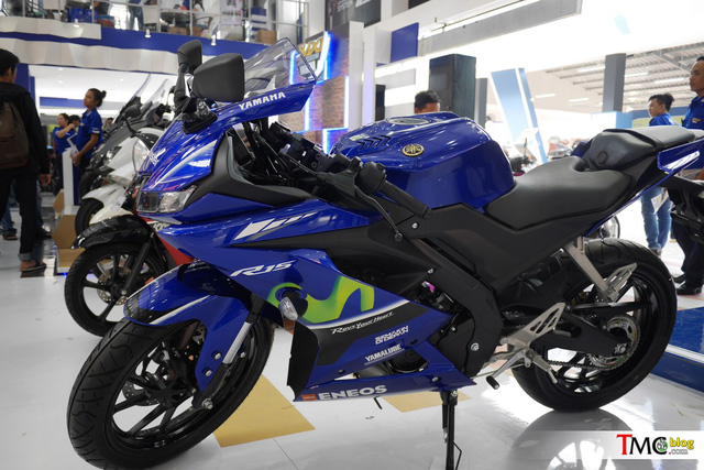 Mô tô thể thao Yamaha R15 3.0 có thêm phiên bản Movistar mới - Ảnh 6.