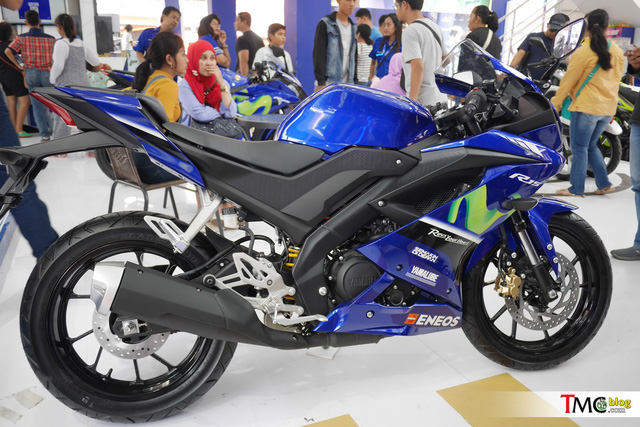 Mô tô thể thao Yamaha R15 3.0 có thêm phiên bản Movistar mới - Ảnh 9.