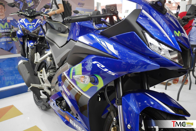 Mô tô thể thao Yamaha R15 3.0 có thêm phiên bản Movistar mới - Ảnh 12.