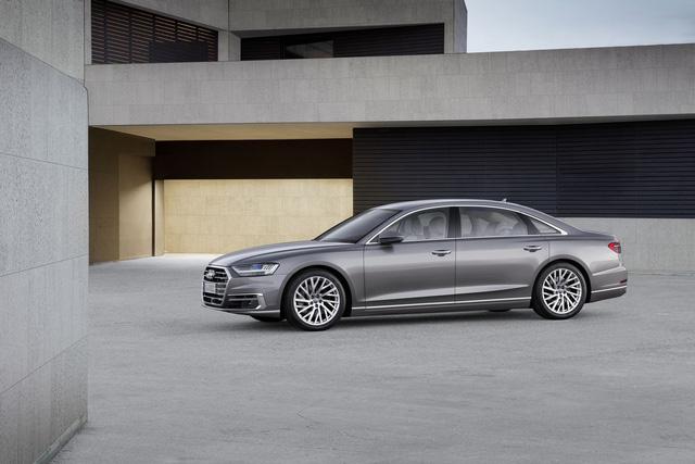 Audi A8 2018 chính thức ra mắt, Mercedes S-Class và BMW 7-Series sẽ phải dè chừng - Ảnh 1.