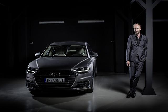 Audi A8 2018 chính thức ra mắt, Mercedes S-Class và BMW 7-Series sẽ phải dè chừng - Ảnh 2.