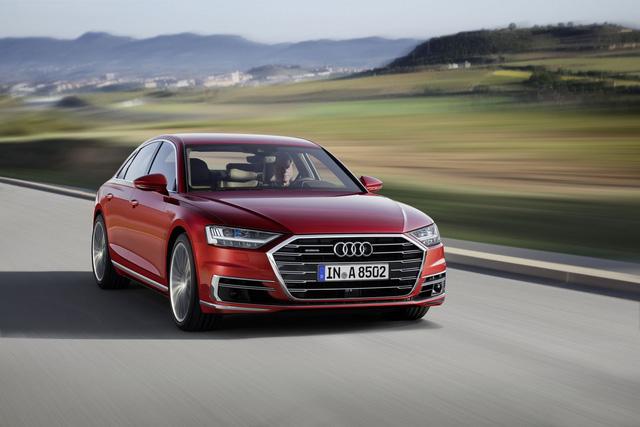 Audi A8 2018 chính thức ra mắt, Mercedes S-Class và BMW 7-Series sẽ phải dè chừng - Ảnh 3.