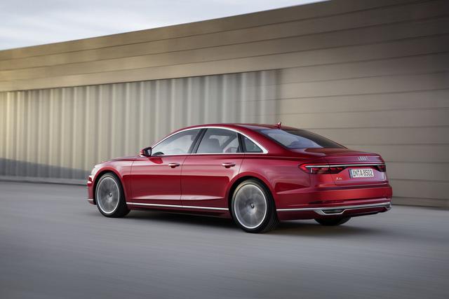 Audi A8 2018 chính thức ra mắt, Mercedes S-Class và BMW 7-Series sẽ phải dè chừng - Ảnh 5.