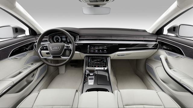 Audi A8 2018 chính thức ra mắt, Mercedes S-Class và BMW 7-Series sẽ phải dè chừng - Ảnh 6.