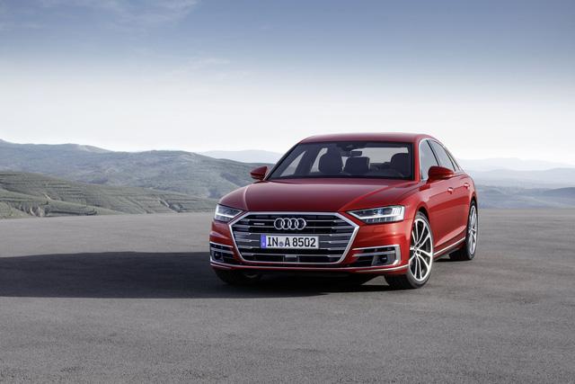 Audi A8 2018 chính thức ra mắt, Mercedes S-Class và BMW 7-Series sẽ phải dè chừng - Ảnh 12.