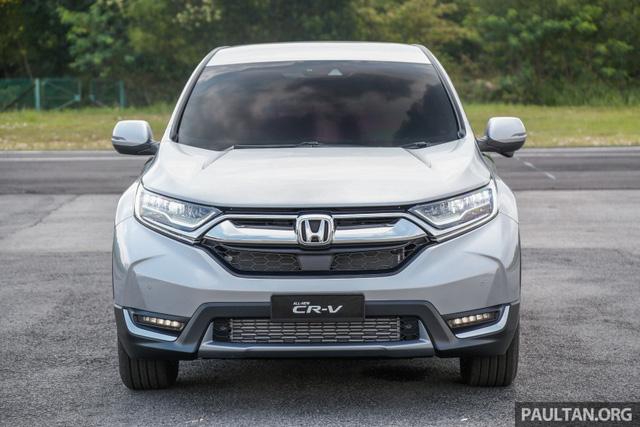 Honda CR-V 2017 tiếp tục ra mắt Malaysia, khách Việt lại sốt xình xịch - Ảnh 1.