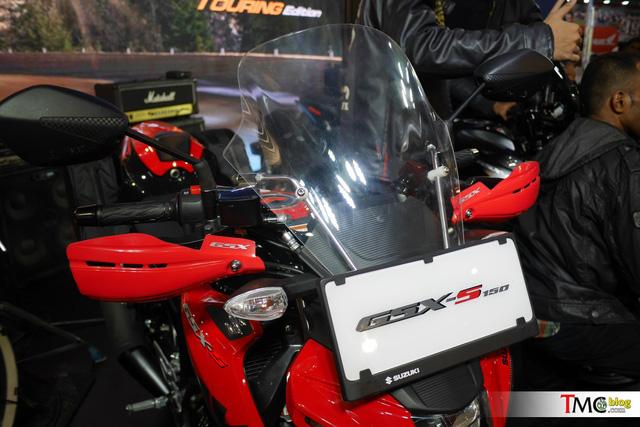 Suzuki GSX-S150 mới ra mắt Việt Nam có phiên bản Tourer mới - Ảnh 3.