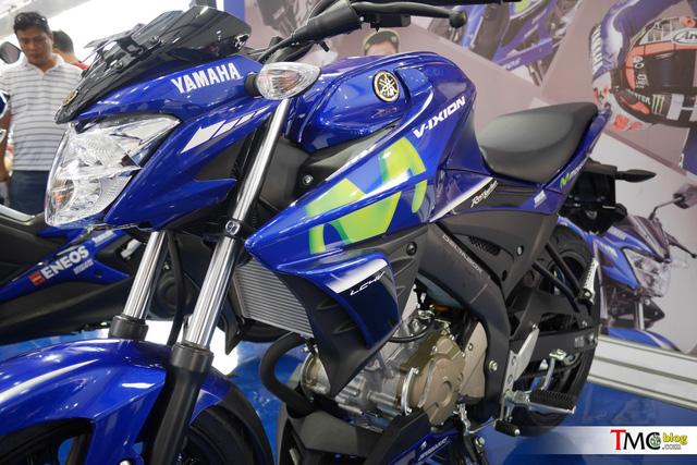 Xe côn tay Yamaha V-Ixion 2017 mới ra mắt đã có thêm phiên bản Movistar - Ảnh 6.