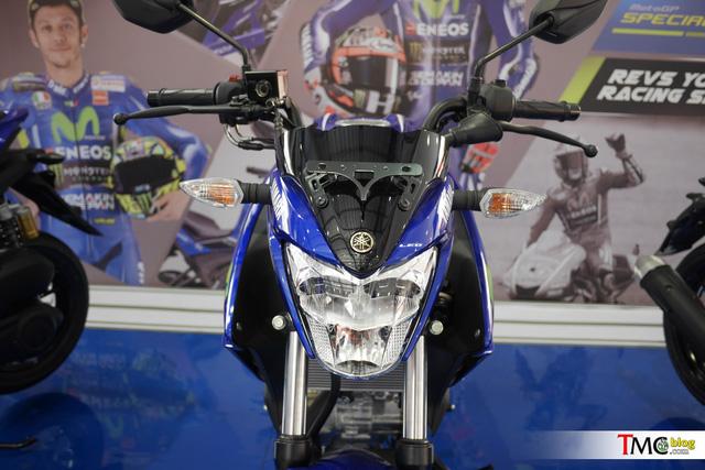 Xe côn tay Yamaha V-Ixion 2017 mới ra mắt đã có thêm phiên bản Movistar - Ảnh 8.