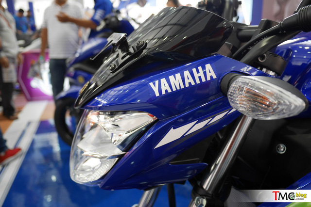 Xe côn tay Yamaha V-Ixion 2017 mới ra mắt đã có thêm phiên bản Movistar - Ảnh 12.
