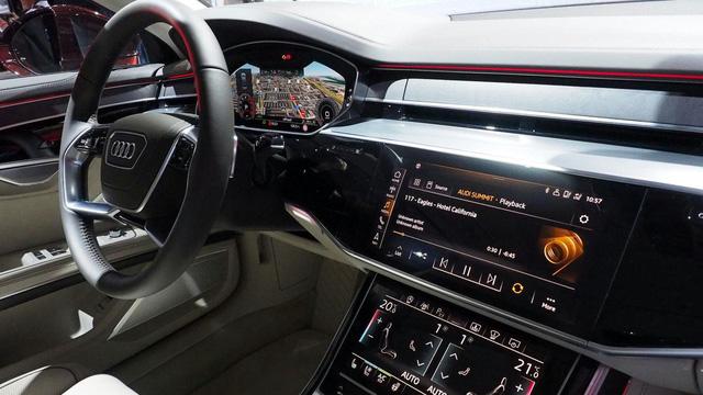 Chiêm ngưỡng vẻ đẹp của Audi A8 2018 bằng xương, bằng thịt - Ảnh 6.