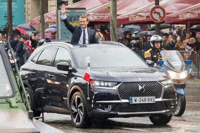 Tân Tổng thống Pháp Emmanuel Macron có thêm SUV thửa riêng - Ảnh 2.