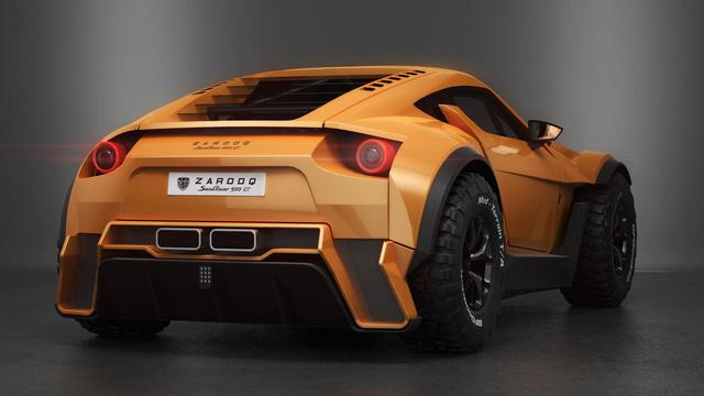 Chiến binh sa mạc Zarooq Sand Racer 500 GT được bày bán với giá khóc thét - Ảnh 7.