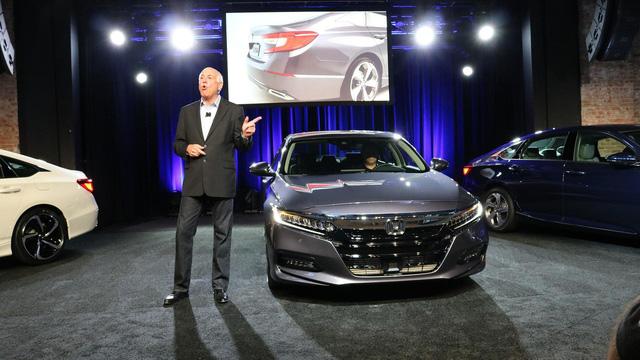 6 điều cần biết thêm về Honda Accord 2018 mới ra mắt - Ảnh 1.