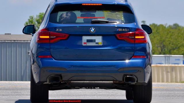 Bắt gặp SUV hạng sang BMW X3 2018 ngoài đời thực - Ảnh 2.
