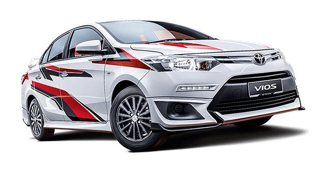 Toyota Vios phiên bản thể thao được tung ra thị trường - Ảnh 1.