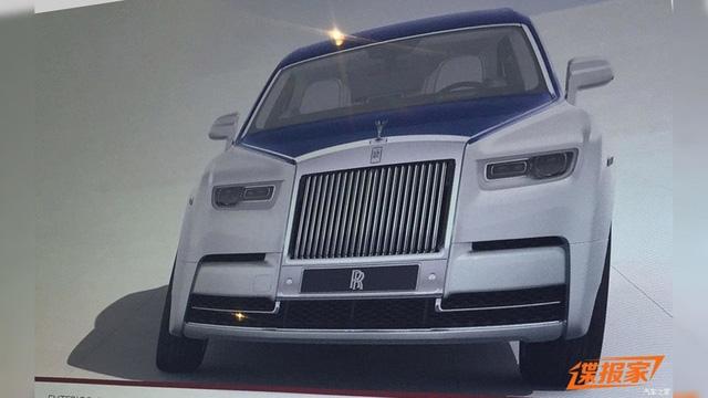 Xe siêu sang Rolls-Royce Phantom 2018 bất ngờ hiện nguyên hình - Ảnh 1.