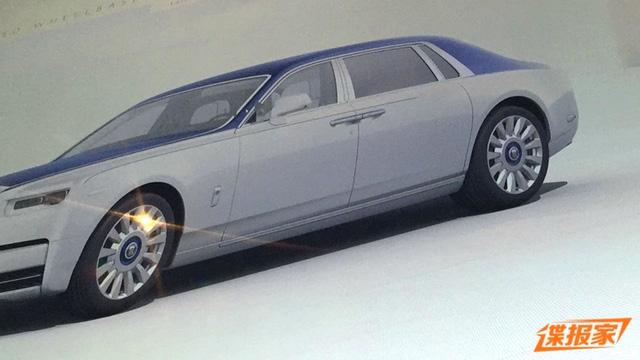 Xe siêu sang Rolls-Royce Phantom 2018 bất ngờ hiện nguyên hình - Ảnh 3.