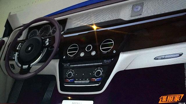 Xe siêu sang Rolls-Royce Phantom 2018 bất ngờ hiện nguyên hình - Ảnh 4.