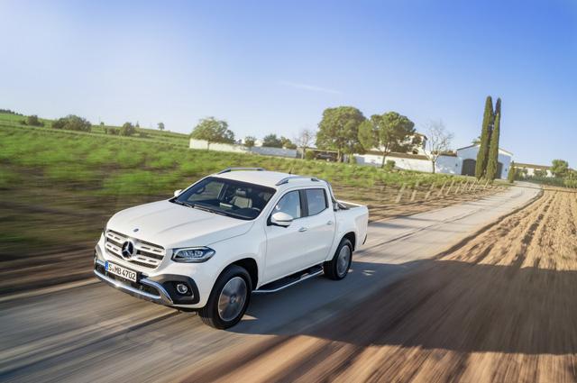 Xe bán tải hạng sang Mercedes-Benz X-Class 2018 trình làng, giá gần 1 tỷ Đồng - Ảnh 2.