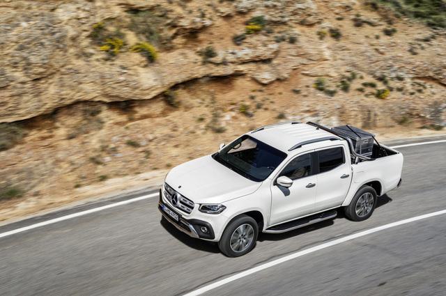 Xe bán tải hạng sang Mercedes-Benz X-Class 2018 trình làng, giá gần 1 tỷ Đồng - Ảnh 3.
