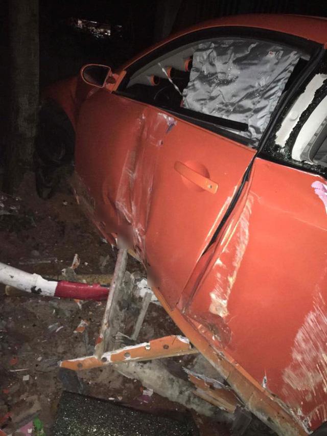 Infiniti G35 độ cửa cắt kéo Lamborghini gặp tai nạn tại Bà Rịa-Vũng Tàu - Ảnh 2.