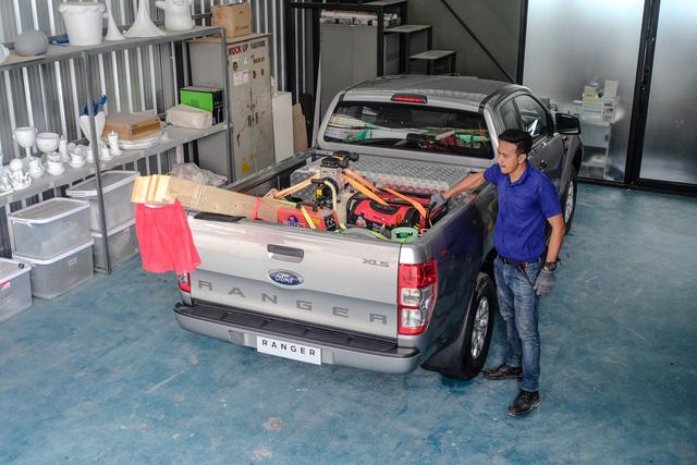 Cách để đồ an toàn trên thùng xe bán tải - Ảnh 5.