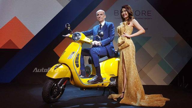 Vespa GTS 300 được chốt giá 120 triệu Đồng tại Việt Nam, rẻ hơn một nửa so với Honda SH300i - Ảnh 1.