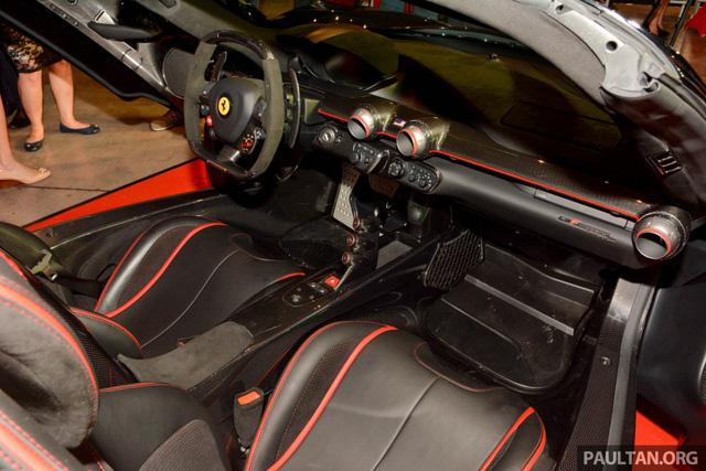 Siêu phẩm Ferrari LaFerrari Aperta ra mắt tại Malaysia, nhà giàu Việt phát thèm - Ảnh 6.